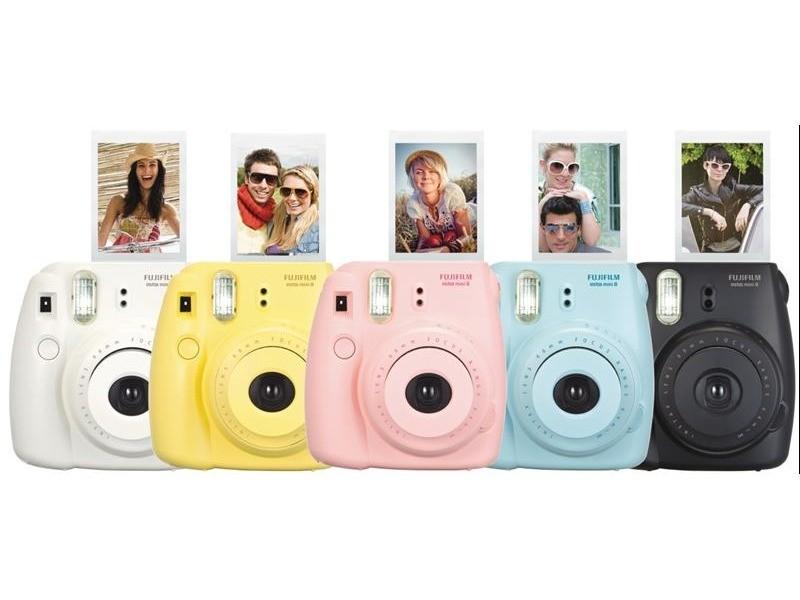 Fujifilm instax mini 8 yellow for Instax mini 8 housse