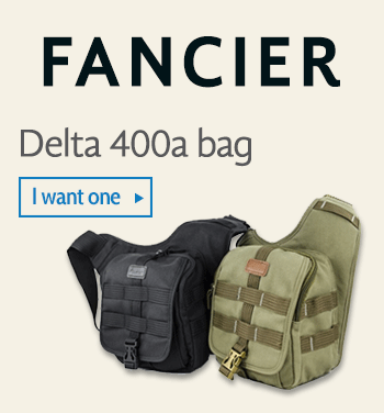 Fancier Delta 400a camera bag
