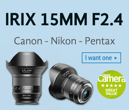 Irix 15mm f/2.4 lenses