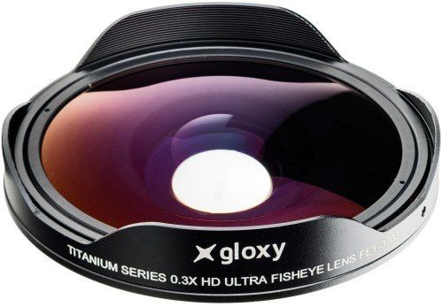 Gloxy Fish Eye Converter Lens FET-3703