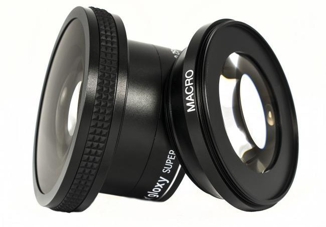 Gloxy Fish-eye Conversion Lens 0.25x 58mm