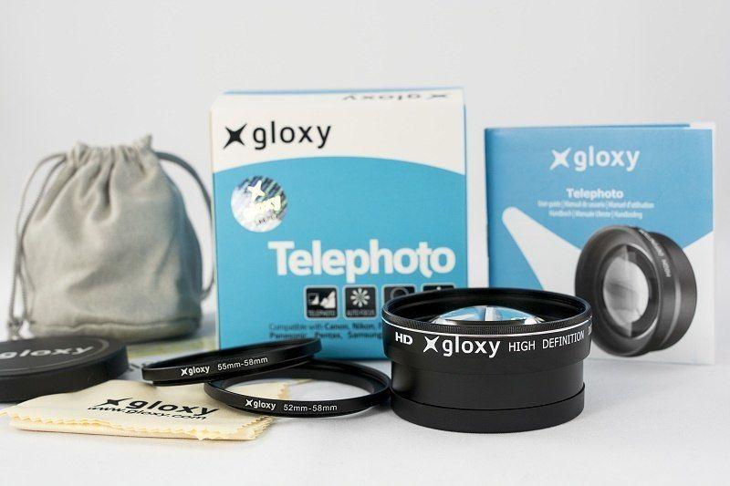 Gloxy 58mm Telephoto Lens 2X